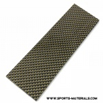 Carbon Fiber with Gold Thread